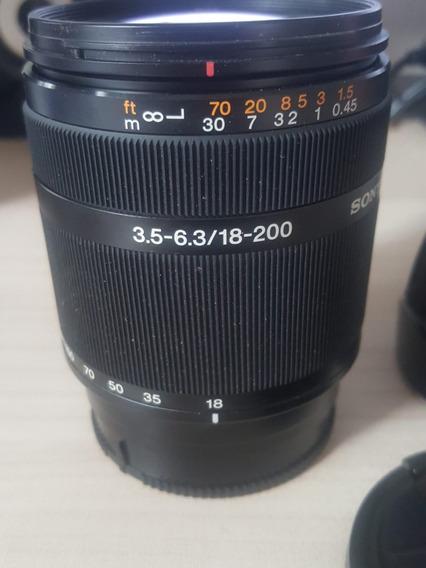 Lente Sony 18-200mm 3.5-6.3