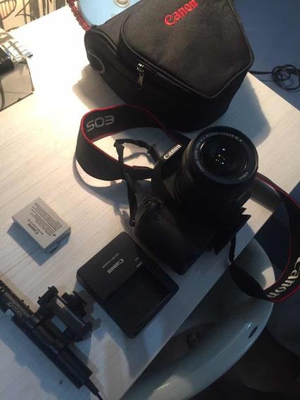Câmera Cannon T3i