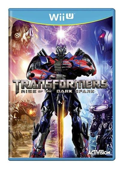 Transformers Rise Of The Dark Spark Wii U Mídia Física