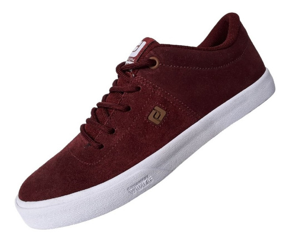 Tênis Freeday Macba Bordo Skateboard Casual Original Unissex