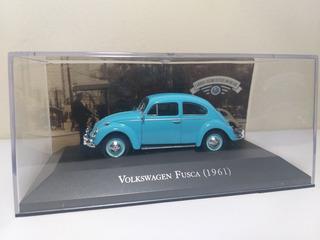 Volkswagen Fusca 1961 Carros Inesquecíveis Brasil Escal 1/43