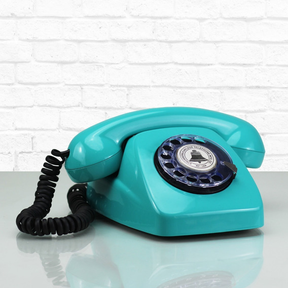 Telefone Fusquinha Restaurado Estilo Dlg Retro Disco Antigo