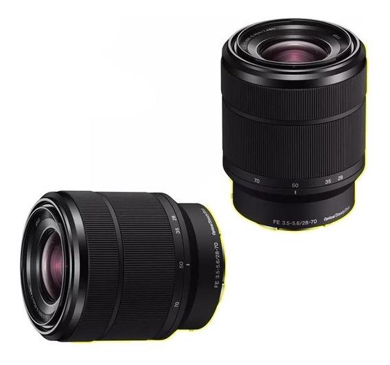 Lente Sony Fe 28-70mm F3.5-5.6 Oss - Sel2870