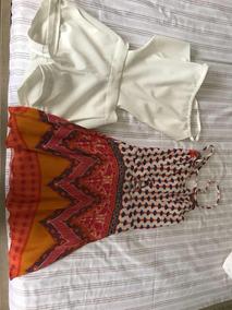 Kit Vestido E Macaquinho 10 Anos