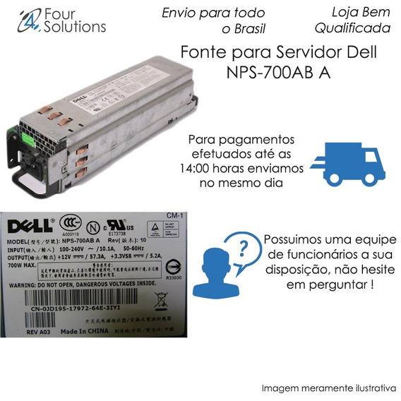 Fonte Para Servidor Dell Nps-700ab A