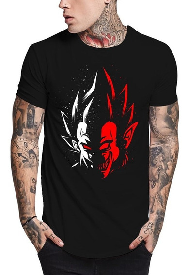 Camisa Dragon Ball Vegeta Oozaru Camiseta Qualidade Absurda!