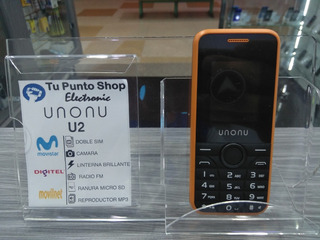 Telefono Basico Unonu U2 Liberado Solo (2g) Para (12 Nort)