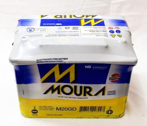 Bateria Moura 12x65 M20gd Gol Voyage Fox Suran