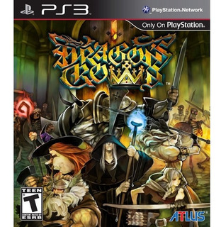 Dragons Crown Ps3 Disco, Nuevo Y Sellado