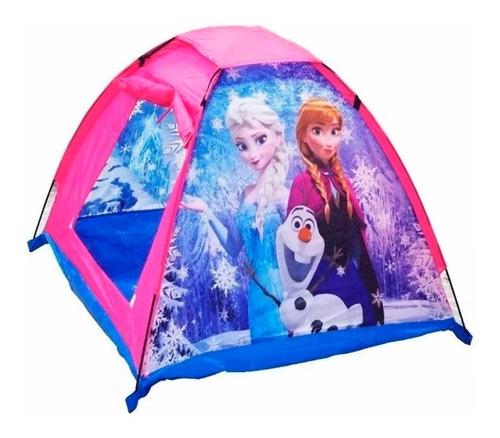 Carpa Niña Camping Infantil Frozen