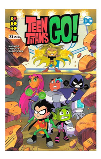 Teen Titans Go #31 - Editorial Kodomo - Ecc