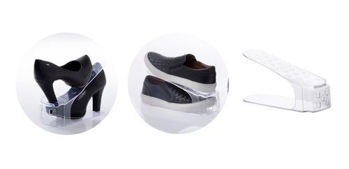 Imagem 1 de 7 de 20 Organizadores De Sapatos,tênis,saltos  25x10x12cm