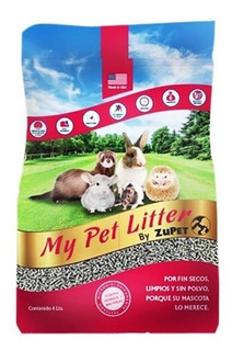 Sustrato Papel Reciclado My Pet Litter Cuy, Erizo