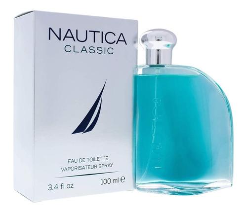Perfume Locion Nautica Classic Hombre 10 - L a $700
