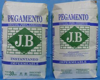 Pegamento Impermeable J B Bolsa De 30 Kg