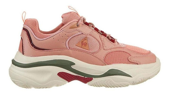 Zapatillas Mujer Lecoq Bayona Pink Peach Lefran