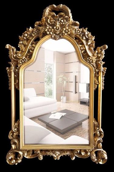 Espelho Importado Cristal Bisotado Moldura Em Resina