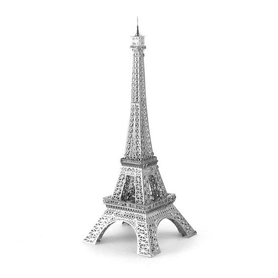 Rompecabezas Metalico 3d Torre Eiffel Iconx- Fascinations