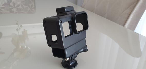 Gopro Caixa Estanque Para Vlog Gopro 5 A 7 Black