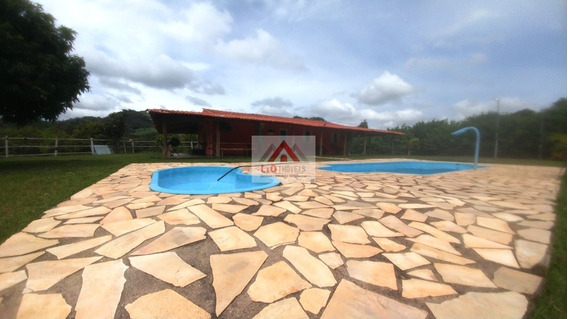 Fazendinha Em Taquaraçu De Minas De Porteira Fechada E Com 60 M De Margem Do Rio - 2778