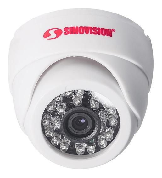 Cámara Domo Sinovision, Hd 720p, 4 En 1 Interiores