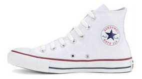 Tênis Converse All Star Branco Cano Alto Ct00040001
