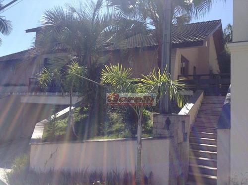 Casa Com 4 Dormitórios À Venda, 500 M² Por R$ 1.600.000,00 - Condomínio Arujazinho Iv - Arujá/sp - Ca0614