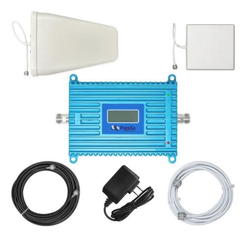 Imagen 1 de 5 de Kit  Antena Amplificador Señal Celular 1900mhz Booster