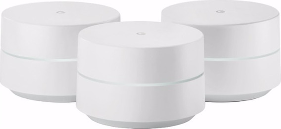 Google Wifi System (set Of 3) Access Point + Wifi Repetidor