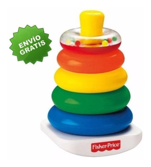 Pila De Aritos Jueguete Fisher Price Torre Colores