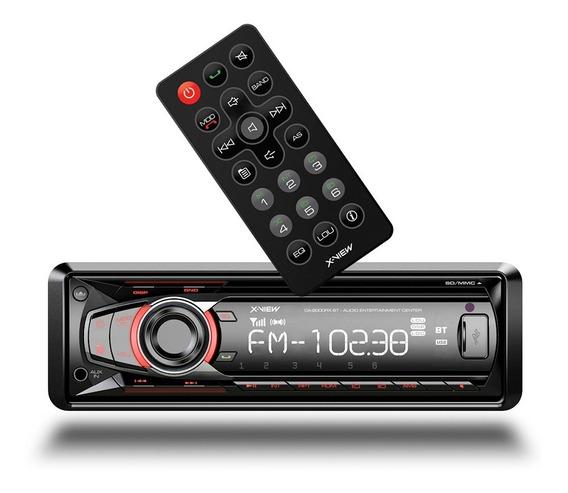 Auto Stereo X-view Ca-2000rxbt Sin Cd Mp3 Usb Sd Bt Control