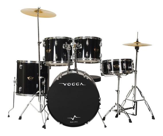 Bateria Acústica Bumbo 20 Pol Talent Vpd920 Preta - Vogga