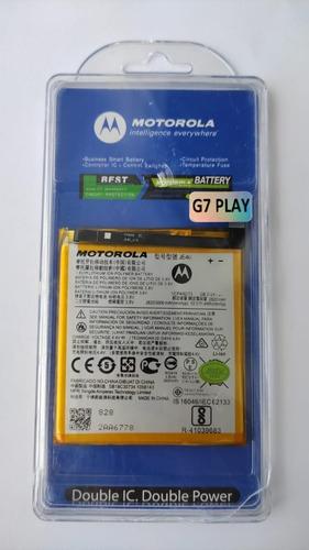 Imagen 1 de 1 de Bateria Pila Para Motorola Moto G7 Play Xt1952 Je40