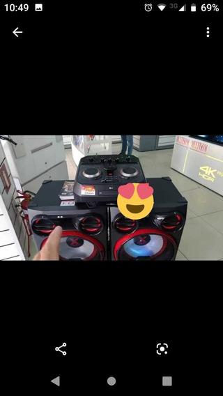 Mini System LG Xbomm 4100 Rms