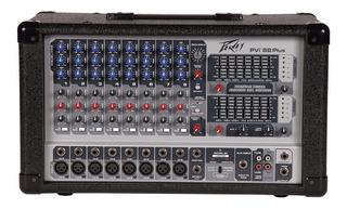 Peavey Pvi 8b Plus Mixer Potenciado Con Efectos 9 Ch 1400w
