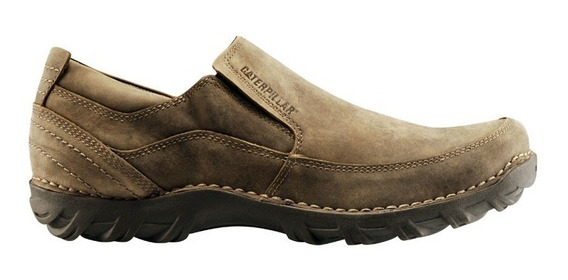 Zapatos Casual Caterpillar Stride - Cuero Engrasado - Marron