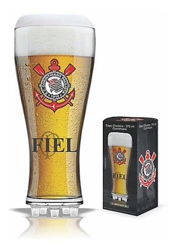 Taça De Cerveja Corinthians Chuteira Vidro 370ml Oficial