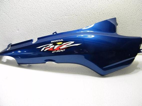 Tampa Lateral Biz 100 01 Ks Azul Met Adesiva Par M. Original