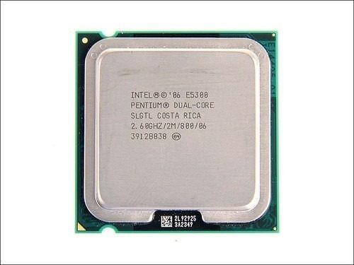 Processador Intel E5300 Pentium Dual-core