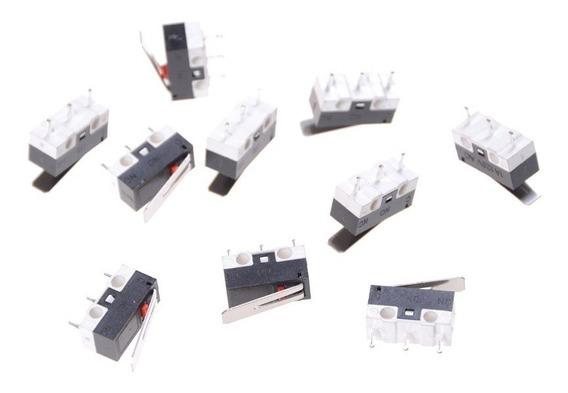 10 X Chave Fim De Curso / End Stop Micro Switch - Impressora