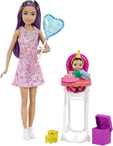 Barbie Skipper Babysitters Inc. Muñecas Y Juego Con Muñeca