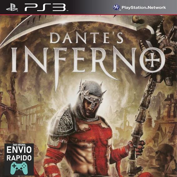 Dantes Inferno Inferno De Dante - Jogos Ps3 Original