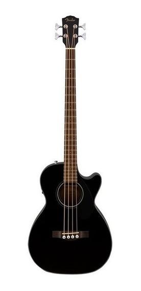 Ftm Bajo Electroacustico Fender Cb-60 Negro