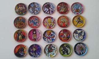 Lote De Tazos Yu Gi Oh 20 Diferentes Por 30, 00