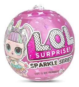 Muñeca Lol Surprise Sparkle Series 7 Sorpresas Original
