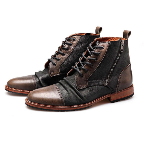 e42c95d1 Borcego Cierre Costado Hombre Borcegos - Zapatos de Hombre en ...