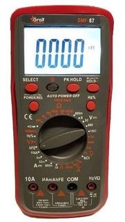 Multimetro Digital Profesional Gmf-87 Soundgroup Palermo.