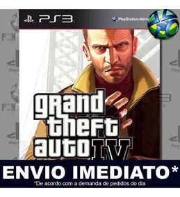 Jogo Ps3 Gta 4 Grand Theft Auto Iv Psn Play 3 Mídia Digital