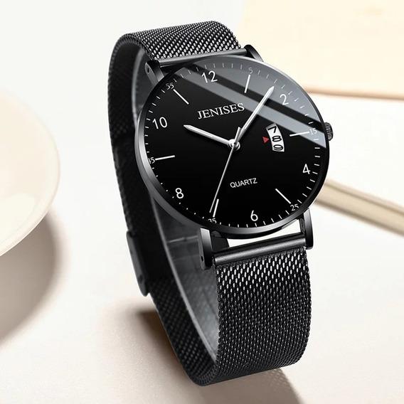 Jenises Utra-thin Watch With Digital-modelo 2020