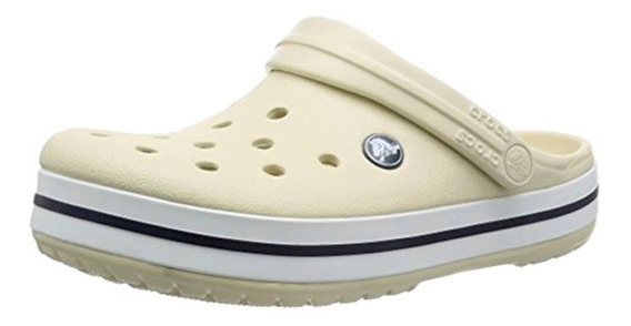 Crocs Crocband Mujer Stucco- White